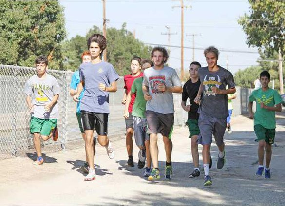Hilmar boys cross country