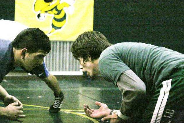 Hilmar wrestling pic