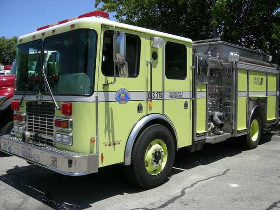 OES fire truck