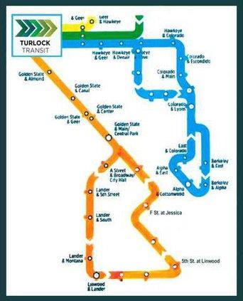 city bus route
