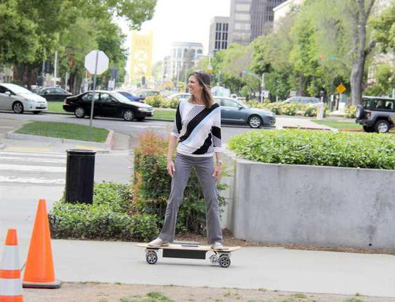 electronic skateboards