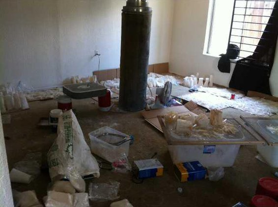 meth bust Rialto Location 2012