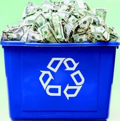 recycle money pic