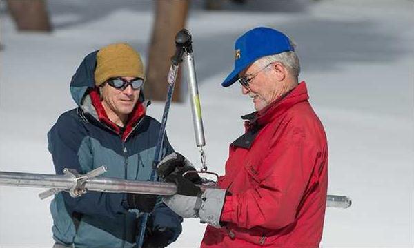 snowpack survey pic