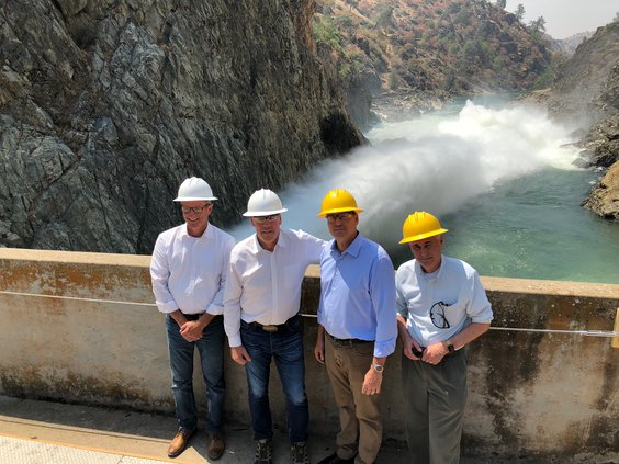 Interior Secretary visit to Don Pedro