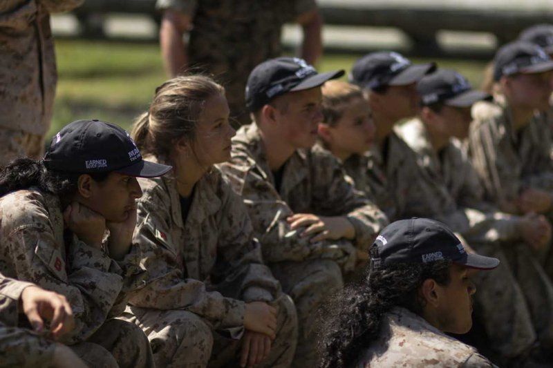 marine leadership camp pic3