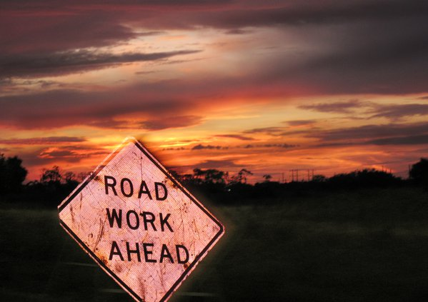 Road Work Coming