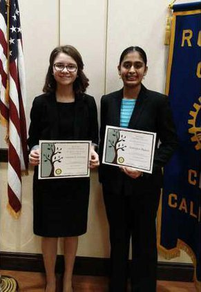 Ceres Rotary Area 12 Speech Contest 1st  2nd 2 19 16