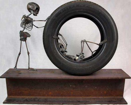 Josef Peters Bare Youth Grand Prize made of Iron Steel and Rubber Tire 2013