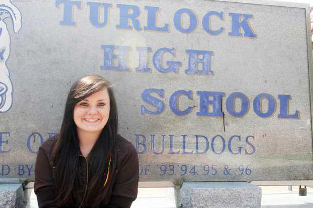 Turlock High girl 2