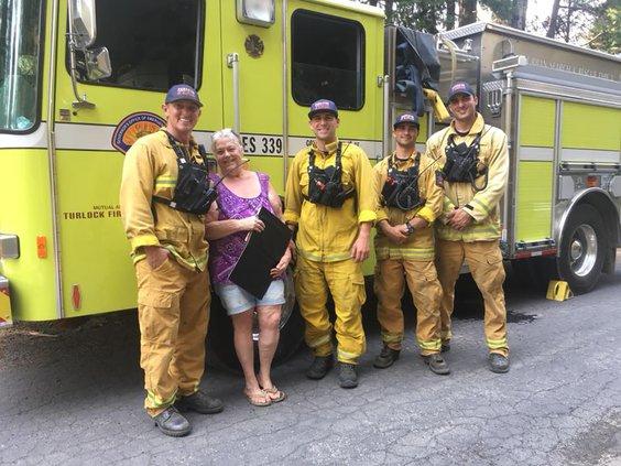 fire team in mariposa