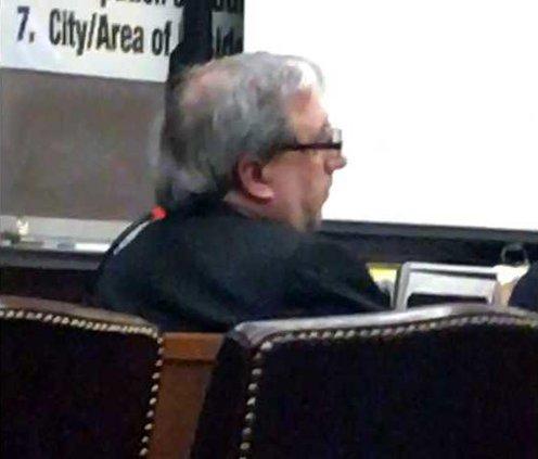 Mark Mesiti in court