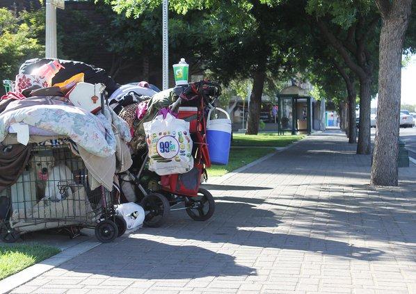 homeless property