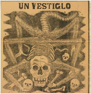 """Calavera Huertista"" by José Guadalupe Posada"