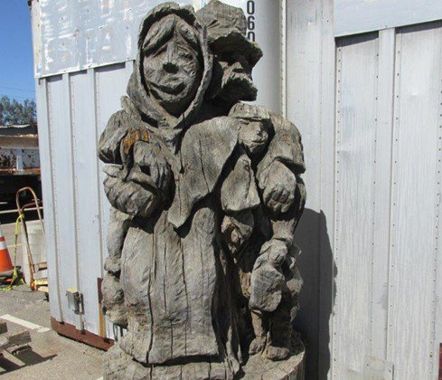 Scandinavian statue