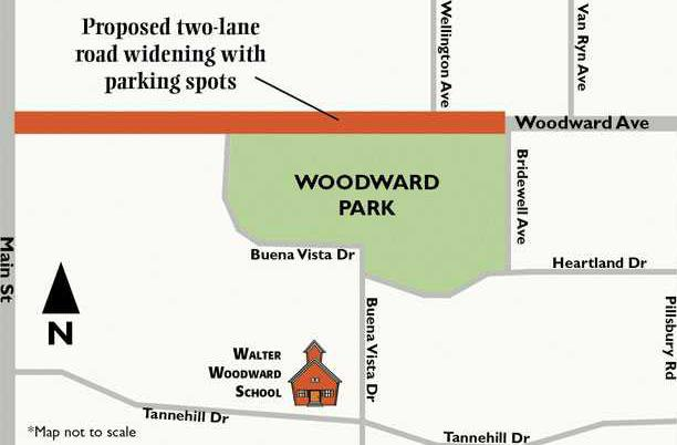 MAP-Woodward-Parking