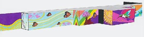 Columbia Park mural