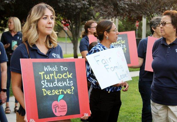TTA protest