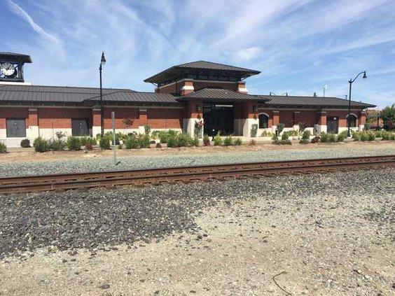 rail station copy