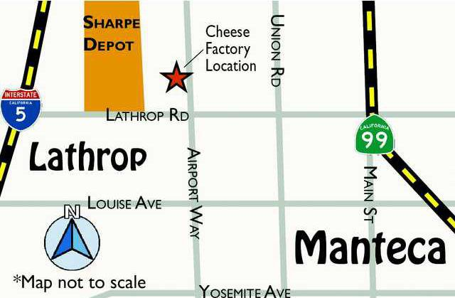 MAP CHEESE FACTORY