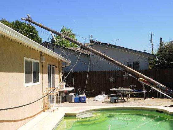 Pole downed DSC 3503