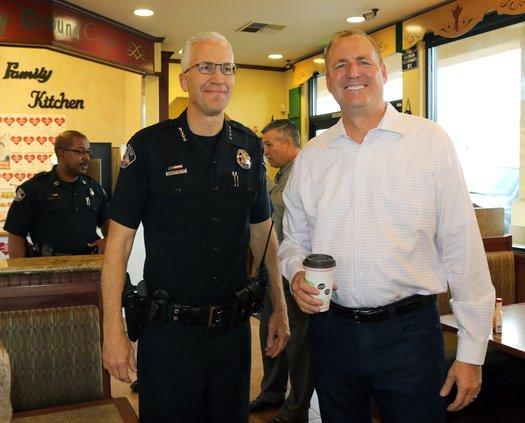 Denham with Chief Smith.jpg