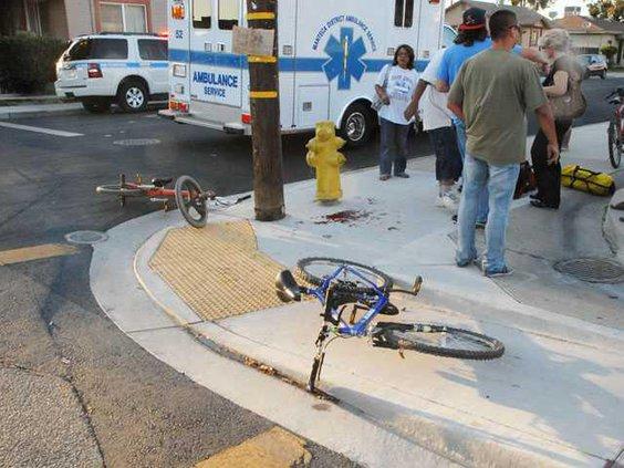 Bike hit  run DSC 6279