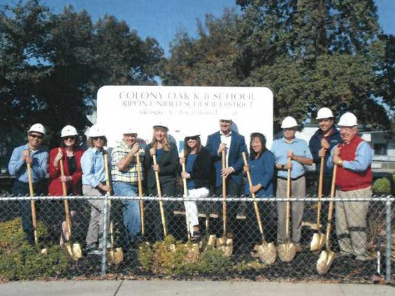 Colony Groundbreaking