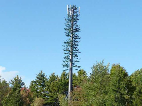 Cell phone tower disguised 2008