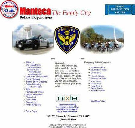 Manteca-Police-Web-Page