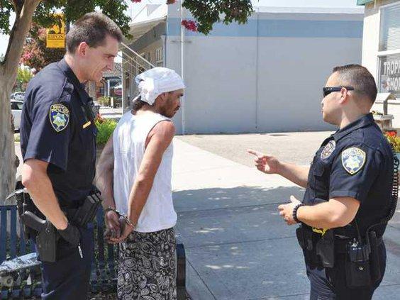 Ripon vagrant arrest copy