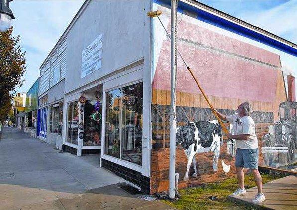 cow-mural