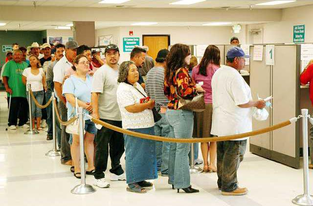 Unemployed in California Labor
