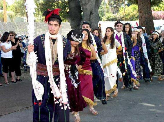Assyrian dance