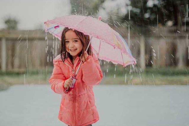 Aubree rain pics 1