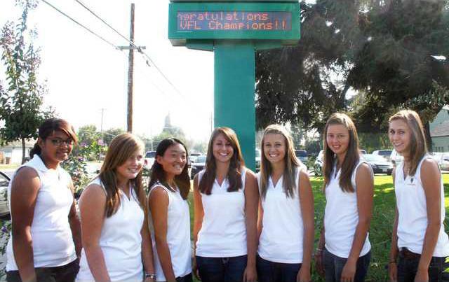 Hilmar girls golf