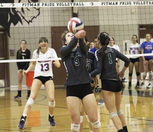 Pitman Volley 1
