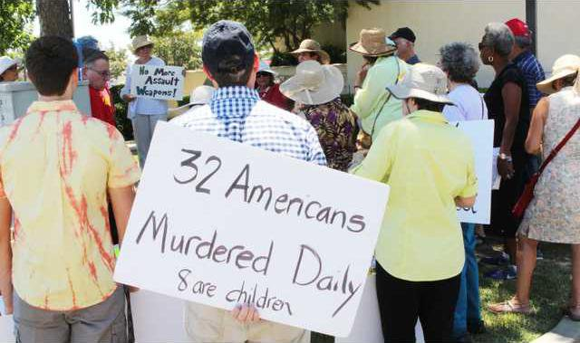 brady bill protest pic