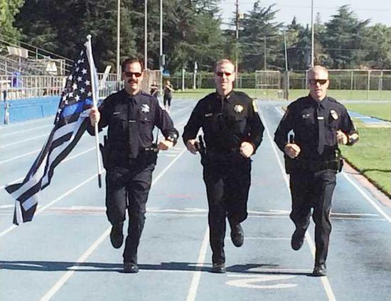 police marathon