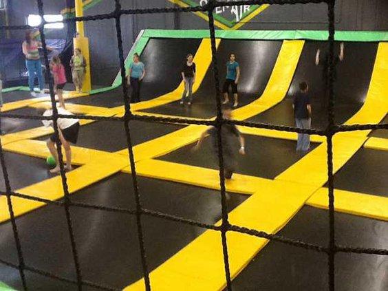 trampoline park pic