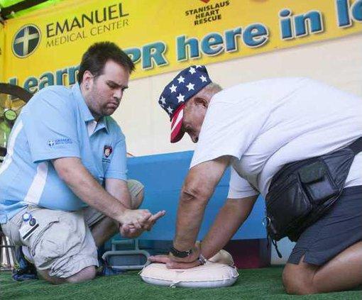 CPR at the fair - 2013