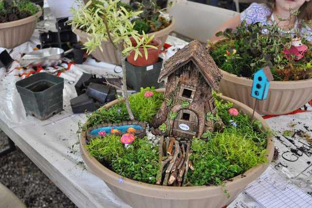 Fairy Garden Seminar bowl