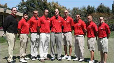 Mens Golf Team Pic