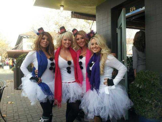 Pub crawl Snow Bunnies