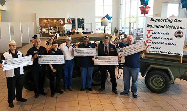 charity makes local veterans a priority turlock journal charity makes local veterans a priority