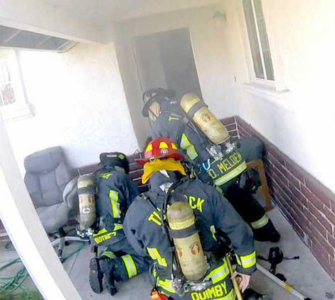 fire at residence
