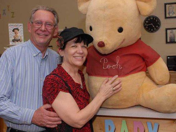 Pooh at Tammys DSC 9396