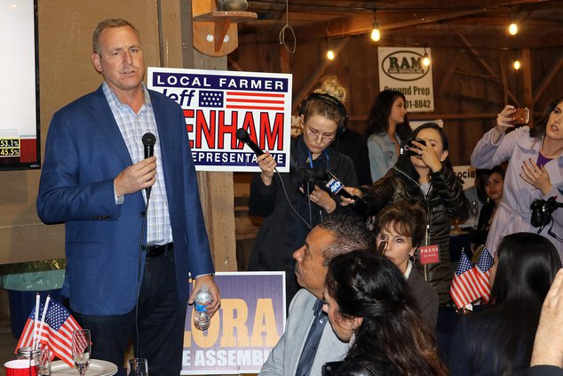 denham election night