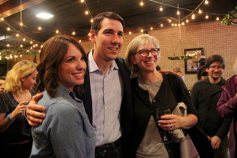 Josh Harder election night