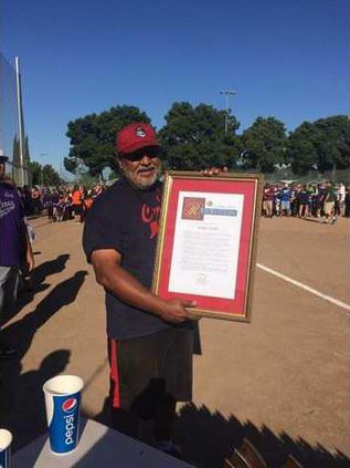 Joseph Carrillo Volunteer of the Year 2016